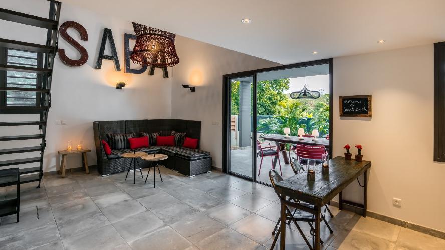 neat Saint Barth Villa Saba luxury holiday home, vacation rental