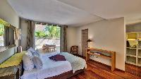 clean bedroom linens in Saint Barth Villa K luxury holiday home, vacation rental