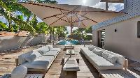 cool patio of Saint Barth Villa K luxury holiday home, vacation rental