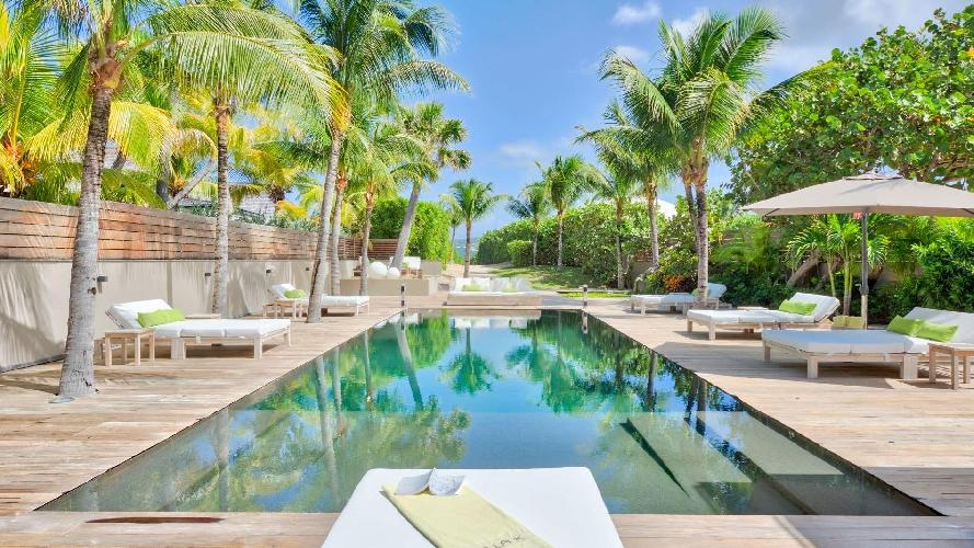 picture-perfect Saint Barth Villa K luxury holiday home, vacation rental