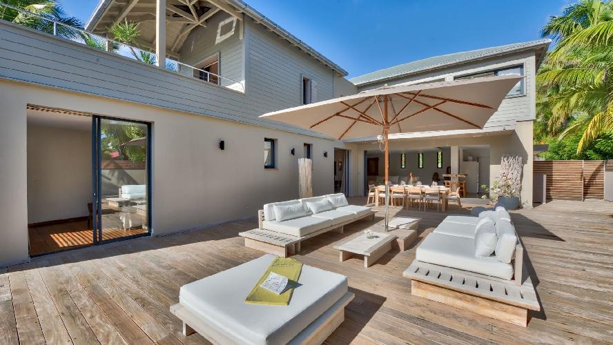 splendid Saint Barth Villa K luxury holiday home, vacation rental