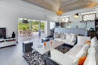 pleasant sitting area in Saint Barth Villa Datcha Estate luxury holiday home, vacation rental