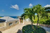 cool garden of Saint Barth Villa Datcha Estate luxury holiday home, vacation rental