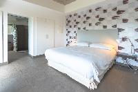 clean bed sheets in Saint Barth Villa Datcha Estate luxury holiday home, vacation rental