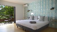 pristine bedding in Saint Barth Villa Datcha Estate luxury holiday home, vacation rental
