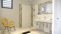 invigorating rain shower in Saint Barth Villa Datcha Estate luxury holiday home, vacation rental