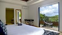incredible bedroom in Saint Barth Villa Datcha Estate luxury holiday home, vacation rental