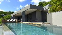 cool poolside of Saint Barth Villa Datcha Estate luxury holiday home, vacation rental
