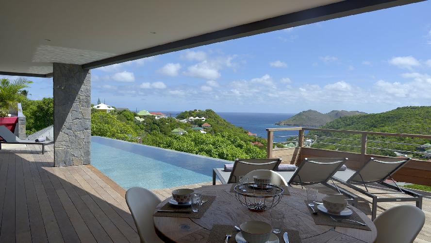 amazing Saint Barth Villa Datcha Estate luxury holiday home, vacation rental