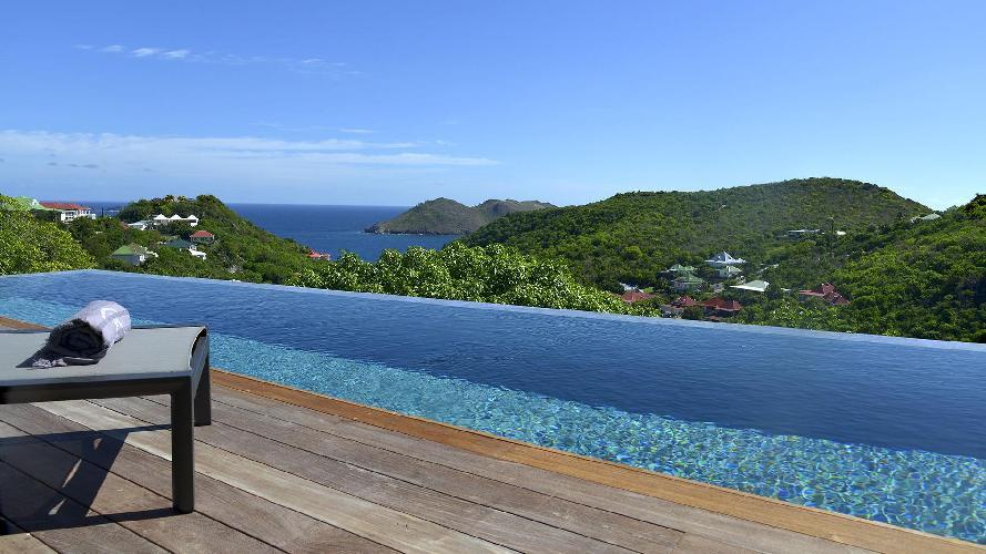 perfect waterfront Saint Barth Villa Datcha Estate luxury holiday home, vacation rental