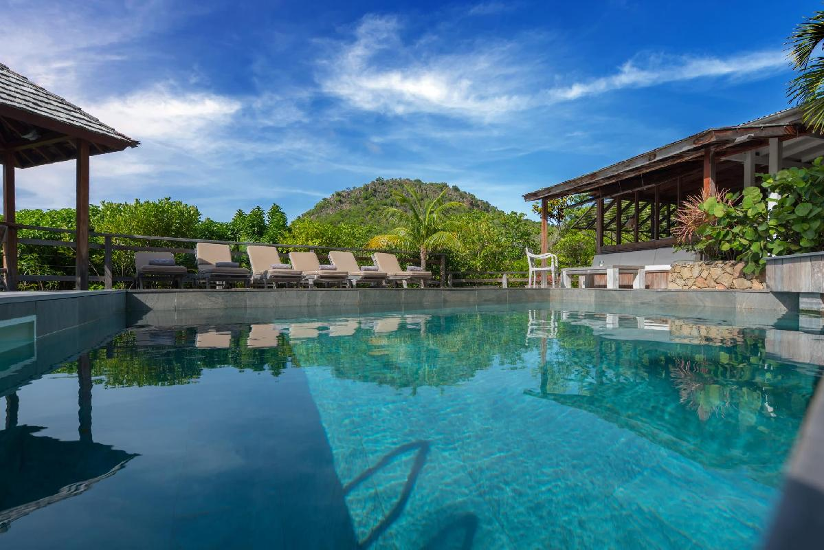 beautiful Saint Barth Villa Lama Estate luxury holiday home, vacation rental