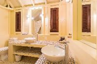 clean bathroom in Saint Barth Villa Lama Estate luxury holiday home, vacation rental