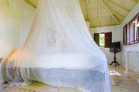 clean bedroom linens in Saint Barth Villa Lama Estate luxury holiday home, vacation rental