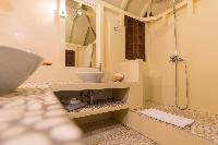 cool shower area in Saint Barth Villa Lama Estate luxury holiday home, vacation rental