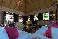 cool ceiling of Saint Barth Villa Lama Estate luxury holiday home, vacation rental
