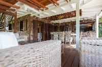 cool interiors of Saint Barth Villa Lama Estate luxury holiday home, vacation rental