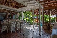 relaxing interiors of Saint Barth Villa Lama Estate luxury holiday home, vacation rental