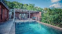 refreshing pool of Saint Barth Villa Lama Estate luxury holiday home, vacation rental