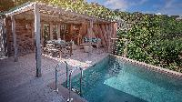 nice pool of Saint Barth Villa Lama Estate luxury holiday home, vacation rental