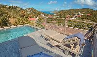 invigorating pool of Saint Barth Villa Lama Estate luxury holiday home, vacation rental