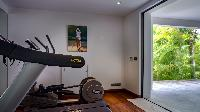 cool gym room of Saint Barth Villa Palm Springs holiday home, vacation rental