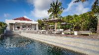 cool infinity pool of Saint Barth Villa Palm Springs holiday home, vacation rental