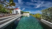 cool swimming pool of Saint Barth Villa Palm Springs holiday home, vacation rental