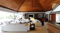 awesome interiors of Saint Barth Villa Silver Rainbow luxury holiday home, vacation rental