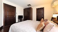 fresh bedding in Saint Barth Villa Silver Rainbow luxury holiday home, vacation rental