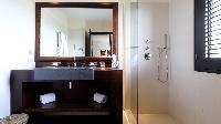 clean bathroom in Saint Barth Villa Silver Rainbow luxury holiday home, vacation rental