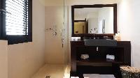 spic-and-span bathroom in Saint Barth Villa Silver Rainbow luxury holiday home, vacation rental