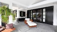 cool veranda of Saint Barth Villa Silver Rainbow luxury holiday home, vacation rental