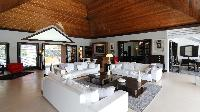 awesome living room of Saint Barth Villa Silver Rainbow luxury holiday home, vacation rental