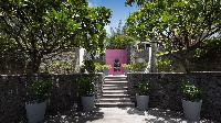peaceful grounds of Saint Barth Villa Silver Rainbow luxury holiday home, vacation rental