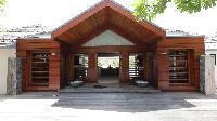 cool exterior of Saint Barth Villa Silver Rainbow luxury holiday home, vacation rental