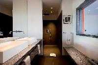 spic-and-span lavatory in Saint Barth Luxury Villa Eternity holiday home, vacation rental