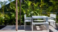 cool garden of Saint Barth Luxury Villa Eternity holiday home, vacation rental