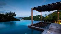 beautiful infinity pool of Saint Barth Luxury Villa Eternity holiday home, vacation rental