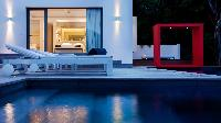 cool swimming pool of Saint Barth Luxury Villa Eternity holiday home, vacation rental