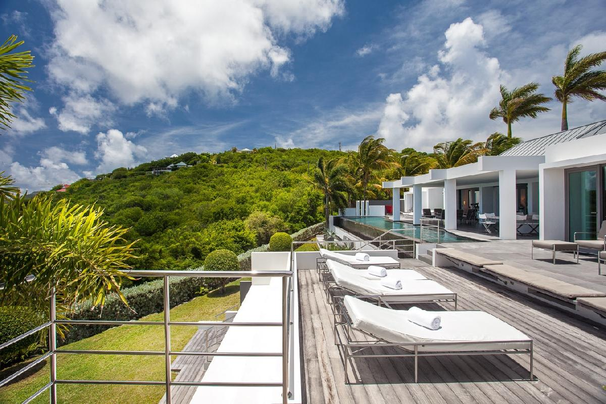 beautiful Saint Barth Villa Nirvana holiday home, luxury vacation rental
