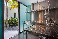 cool garden of Saint Barth Villa Nirvana holiday home, luxury vacation rental