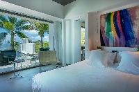 amazing bedroom in Saint Barth Villa Nirvana holiday home, luxury vacation rental