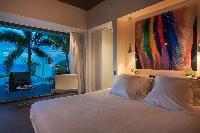 pristine bedding in Saint Barth Villa Nirvana holiday home, luxury vacation rental