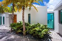 cool grounds of Saint Barth Villa Nirvana holiday home, luxury vacation rental