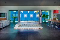 delightful living room of Saint Barth Villa Nirvana holiday home, luxury vacation rental