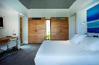 fresh bed sheets in Saint Barth Villa Nirvana holiday home, luxury vacation rental