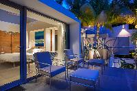 cool balcony of Saint Barth Villa Nirvana holiday home, luxury vacation rental