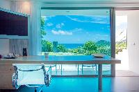 incredible sea view from Saint Barth Villa Nirvana holiday home, luxury vacation rental