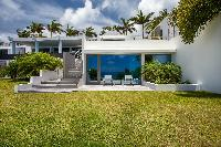 fantastic garden of Saint Barth Villa Nirvana holiday home, luxury vacation rental