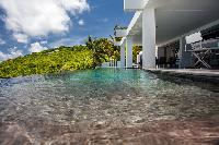 invigorating pool of Saint Barth Villa Nirvana holiday home, luxury vacation rental